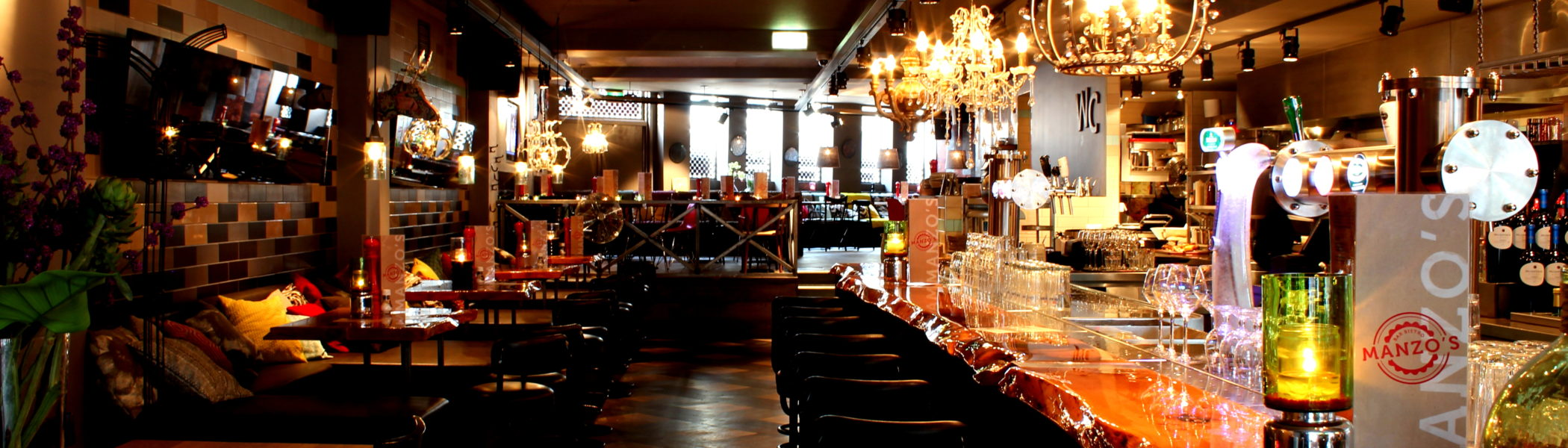 restaurant zaandam manzo bar bistro bar interieur sfeer